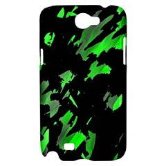 Painter was here - green Samsung Galaxy Note 2 Hardshell Case