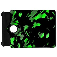 Painter was here - green Kindle Fire HD Flip 360 Case