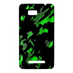 Painter was here - green HTC One SU T528W Hardshell Case
