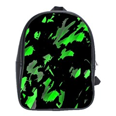Painter was here - green School Bags (XL)