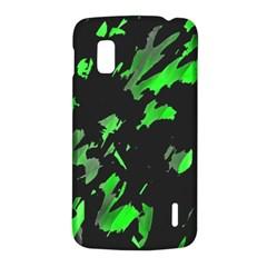 Painter was here - green LG Nexus 4