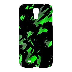 Painter was here - green Samsung Galaxy S4 I9500/I9505 Hardshell Case