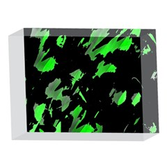 Painter was here - green 5 x 7  Acrylic Photo Blocks