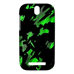 Painter was here - green HTC One SV Hardshell Case