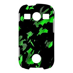 Painter was here - green Samsung Galaxy S7710 Xcover 2 Hardshell Case
