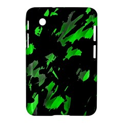 Painter was here - green Samsung Galaxy Tab 2 (7 ) P3100 Hardshell Case