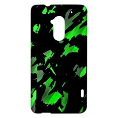 Painter was here - green HTC One Max (T6) Hardshell Case