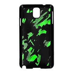 Painter was here - green Samsung Galaxy Note 3 Neo Hardshell Case (Black)