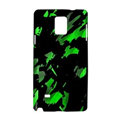Painter was here - green Samsung Galaxy Note 4 Hardshell Case