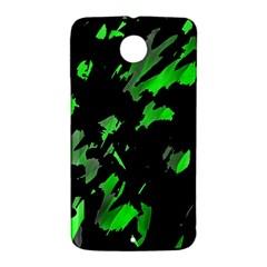 Painter was here - green Nexus 6 Case (White)