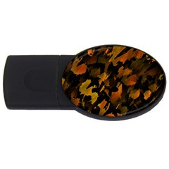Abstract Autumn  USB Flash Drive Oval (2 GB)