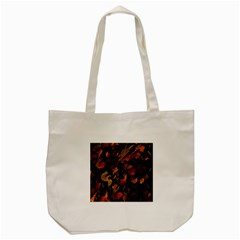 Abstract Autumn  Tote Bag (Cream)