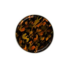 Abstract Autumn  Hat Clip Ball Marker