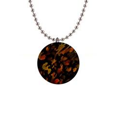 Abstract Autumn  Button Necklaces