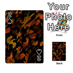 Abstract Autumn  Playing Cards 54 Designs