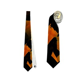 Abstract Autumn  Neckties (One Side)