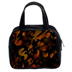 Abstract Autumn  Classic Handbags (2 Sides)
