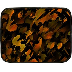 Abstract Autumn  Double Sided Fleece Blanket (Mini)