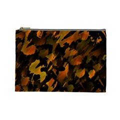 Abstract Autumn  Cosmetic Bag (Large)