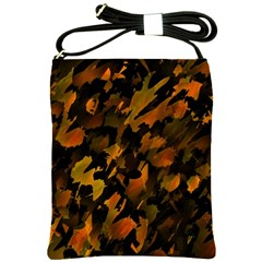 Abstract Autumn  Shoulder Sling Bags