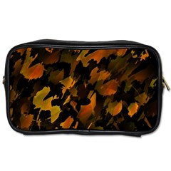 Abstract Autumn  Toiletries Bags 2-Side