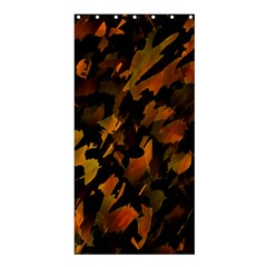 Abstract Autumn  Shower Curtain 36  x 72  (Stall)