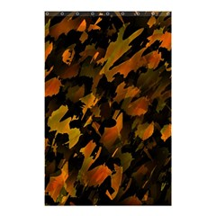 Abstract Autumn  Shower Curtain 48  x 72  (Small)