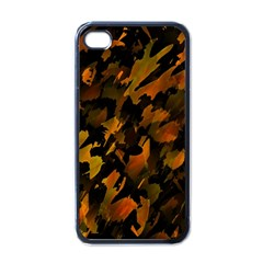 Abstract Autumn  Apple iPhone 4 Case (Black)
