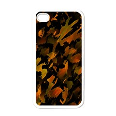 Abstract Autumn  Apple iPhone 4 Case (White)