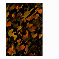Abstract Autumn  Small Garden Flag (Two Sides)