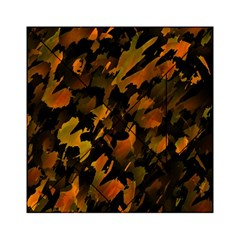 Abstract Autumn  Acrylic Tangram Puzzle (6  x 6 )
