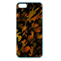Abstract Autumn  Apple Seamless iPhone 5 Case (Color)