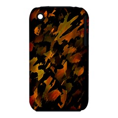 Abstract Autumn  Apple iPhone 3G/3GS Hardshell Case (PC+Silicone)