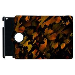 Abstract Autumn  Apple iPad 2 Flip 360 Case