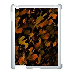 Abstract Autumn  Apple iPad 3/4 Case (White)