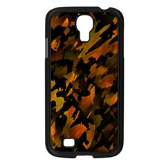 Abstract Autumn  Samsung Galaxy S4 I9500/ I9505 Case (Black)