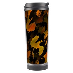Abstract Autumn  Travel Tumbler