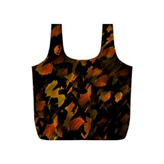 Abstract Autumn  Full Print Recycle Bags (S)