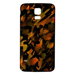 Abstract Autumn  Samsung Galaxy S5 Back Case (White)