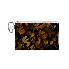 Abstract Autumn  Canvas Cosmetic Bag (S)
