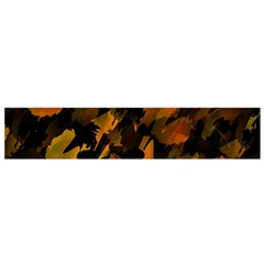 Abstract Autumn  Flano Scarf (Small)