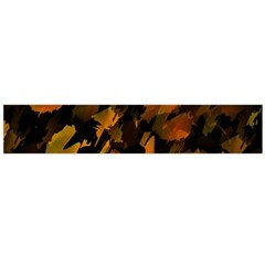 Abstract Autumn  Flano Scarf (Large)