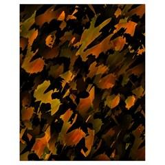 Abstract Autumn  Drawstring Bag (Small)