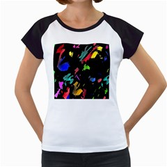 Painter was here Women s Cap Sleeve T