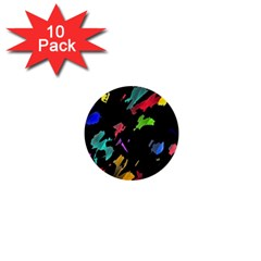 Painter was here 1  Mini Buttons (10 pack)