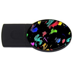 Painter was here USB Flash Drive Oval (4 GB)