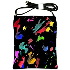 Painter was here Shoulder Sling Bags