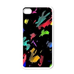 Painter was here Apple iPhone 4 Case (White)