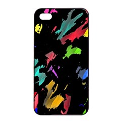 Painter was here Apple iPhone 4/4s Seamless Case (Black)