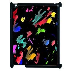 Painter was here Apple iPad 2 Case (Black)